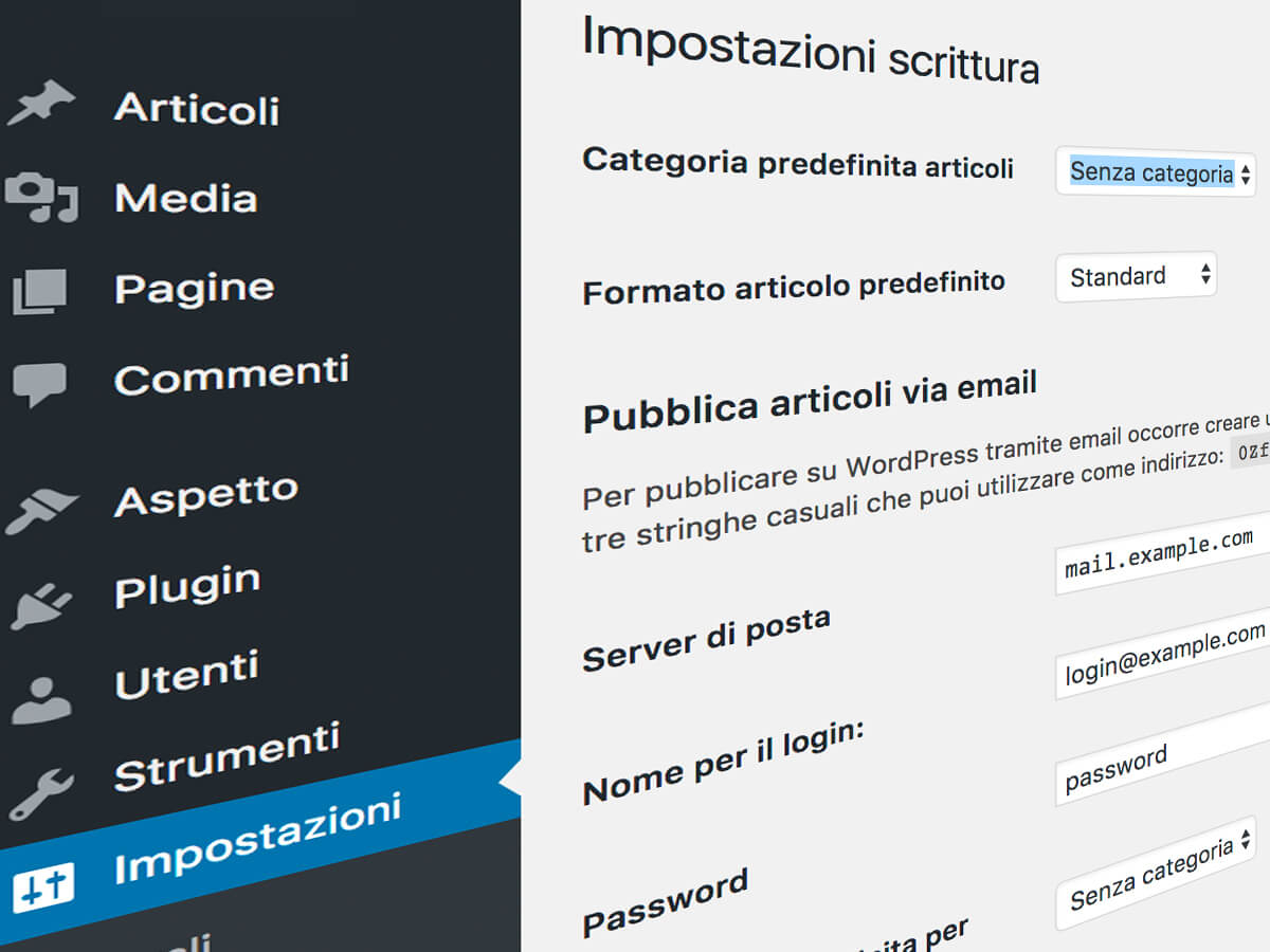 "Come cancellare la categoria di articoli ""senza categoria"" in WordPress"