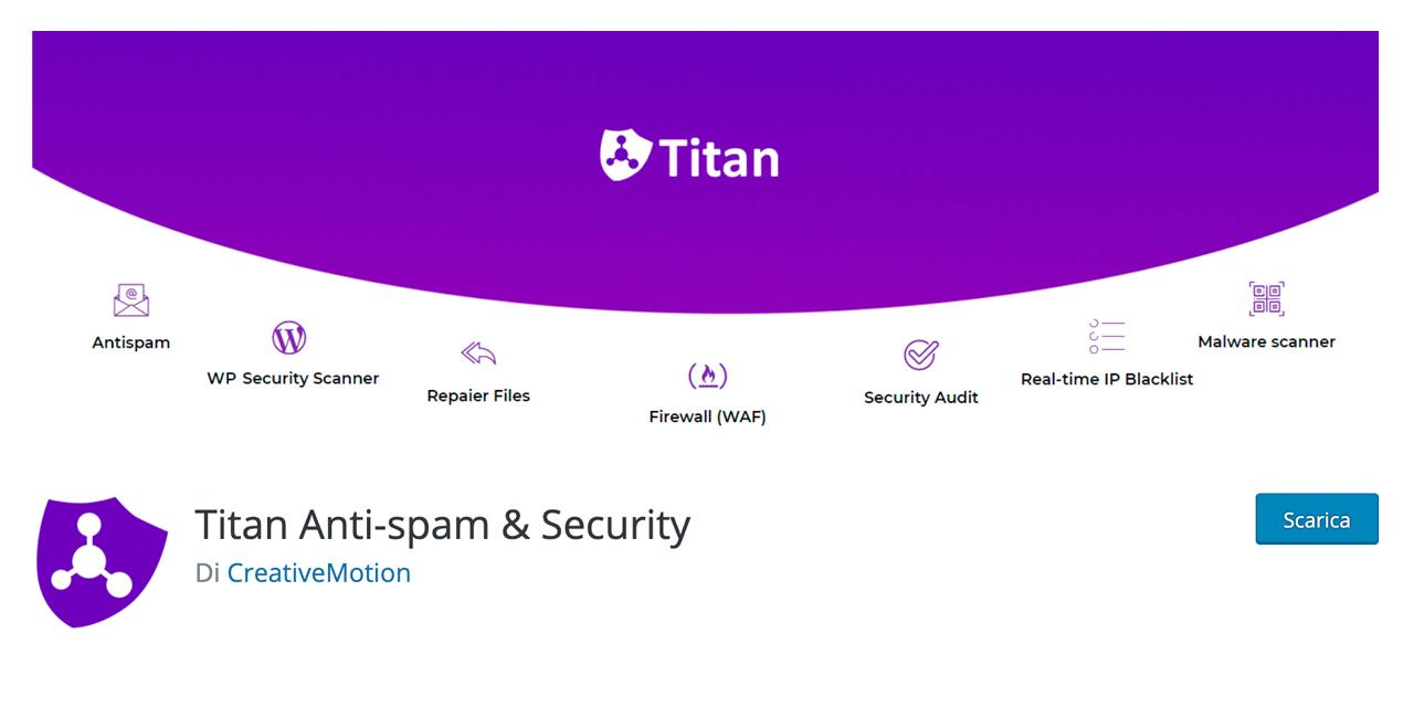 uno dei migliori filtri antispam per WordPress